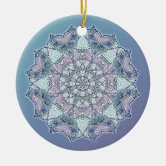 Celtic Knot Mandala Snowflake Ornament