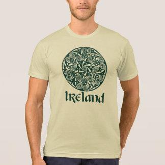 Celtic Knot Medallion Round Design, Irish Artwork T-Shirt