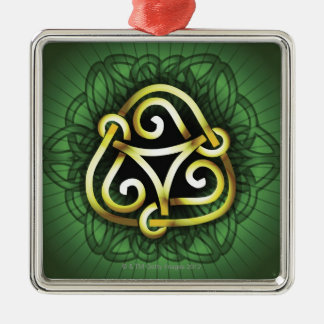 Celtic Knot Metal Ornament