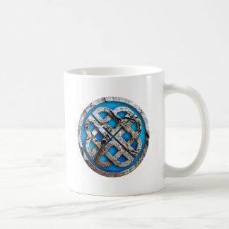 celtic knot classic white coffee mug