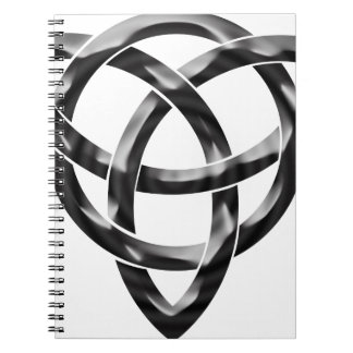 Celtic Knot Spiral Note Book