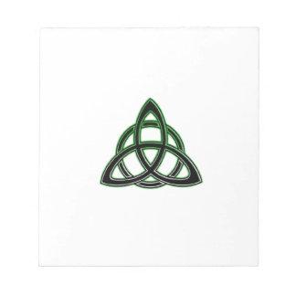 Celtic Knot Notepad