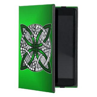 Celtic Knot Original Art Green iPad Mini Cover