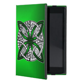 Celtic Knot Original Art Green iPad Mini Cover