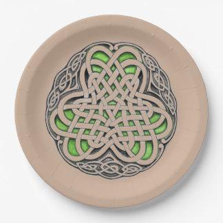 Celtic Knot Paper Plate