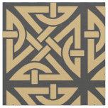 Celtic Knot Pattern Fabric
