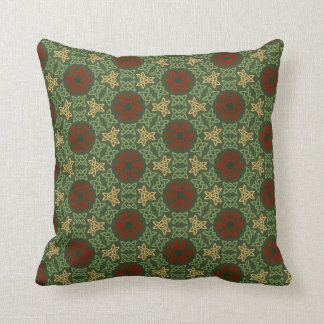 Celtic Knot Pattern Throw Pillows