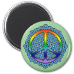 Celtic Knot Peace Magnets