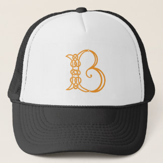 Celtic Knot Personalized Initial B Trucker Hat
