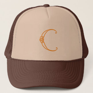 Celtic Knot Personalized Initial C Trucker Hat