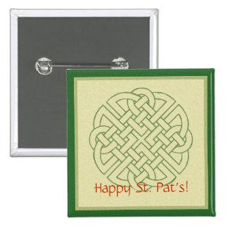 Celtic Knot Pinback Button