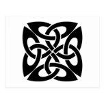 Celtic knot post card