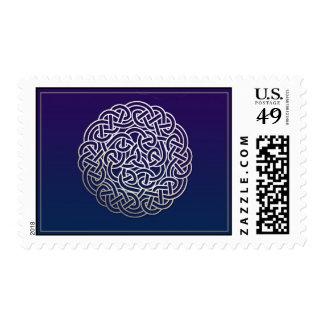Celtic Knot Postage Stamp