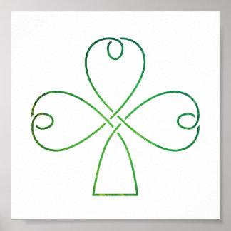 Celtic Knot Poster