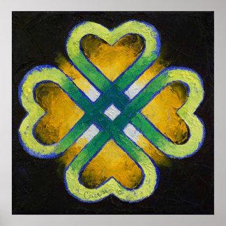 Celtic Knot Print