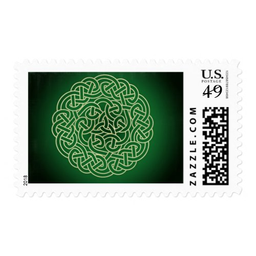Celtic Knot - Put your Irish on! Postage