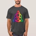 Celtic Knot Rainbow Gay Pride T-Shirt