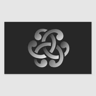 Celtic Knot Rectangular Sticker