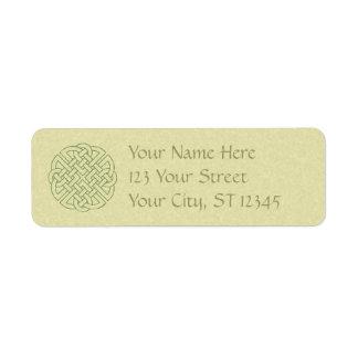 Celtic Knot Return Address Label
