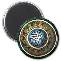 Celtic Knot Round Magnet