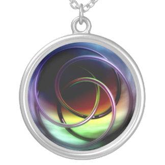 Celtic Knot Round Pendant Necklace