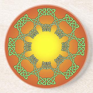 Celtic Knot Sandstone Coaster
