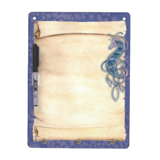 Celtic Knot Seahorse or Dragon Dry Erase Board