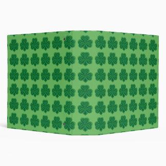 Celtic Knot Shamrock 3 Ring Binder