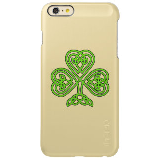 Celtic Knot Shamrock Green Incipio Feather Shine iPhone 6 Plus Case