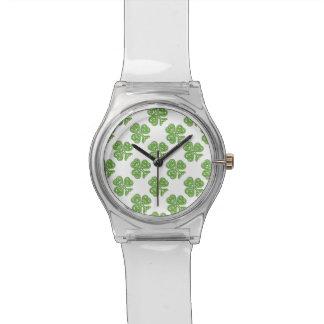 Celtic Knot Shamrock Wrist Watch