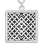 Celtic Knot Silver Plated Necklace