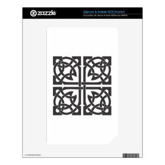 Celtic Knot NOOK Color Decals