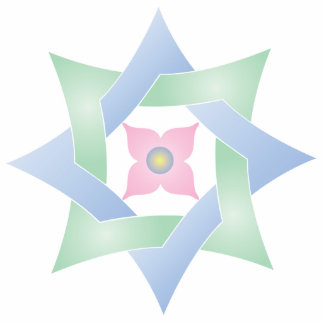 Celtic Knot Star 10 - Ornament Sculpture