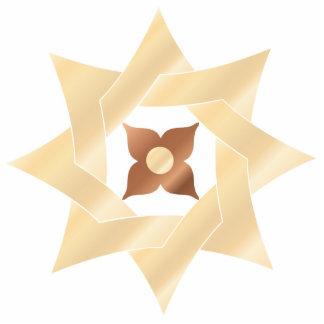 Celtic Knot Star 7- Ornament Sculpture