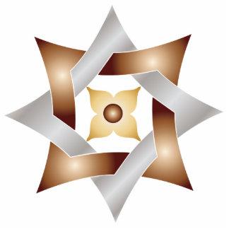 Celtic Knot Star 8- Ornament Sculpture