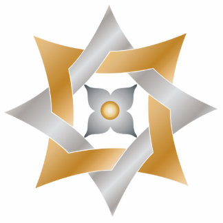 Celtic Knot Star 9 - Ornament Sculpture