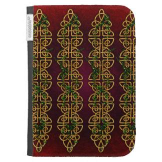 Celtic Knot Strips Kindle 3G Case