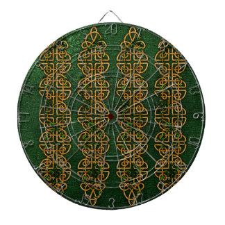 Celtic Knot Strips Dart Board