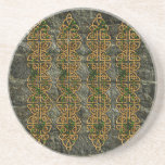 Celtic Knot Strips Drink Coasters