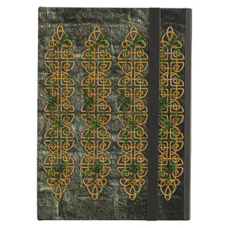 Celtic Knot Strips iPad Cover