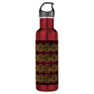 Celtic Knot Strips Stainless Steel Water Bottle