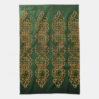 Celtic Knot Strips Towel
