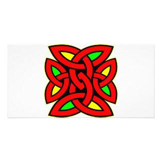 Celtic Knot Tattoo Photo Card Template