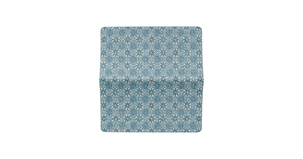 Checkbook Cover Pattern ~ Celtic knot teal blue pattern checkbook cover zazzle