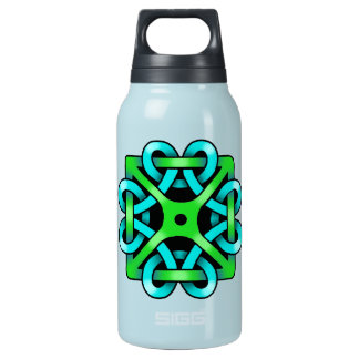 Celtic Knot Thermo 0.3L Teal 10 Oz Insulated SIGG Thermos Water Bottle