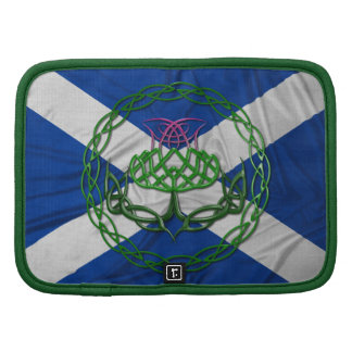 Celtic Knot Thistle And Flag Organizers