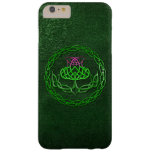 Celtic Knot Thistle Barely There iPhone 6 Plus Case