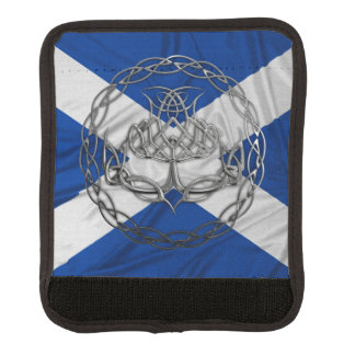 Celtic Knot Thistle Luggage Handle Wrap