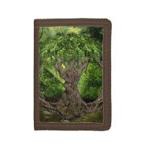 Celtic Knot Tree Tri-fold Wallet
