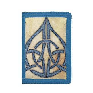 Celtic Knot Tri-fold Wallet